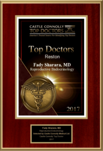 Castle Connelly Top Doctor 2017 Award