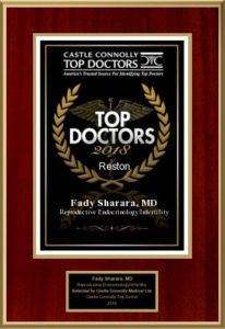 Castle Connelly Top Doctor 2018 Award