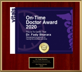 Vitals - On-Time Doctor Award 2020