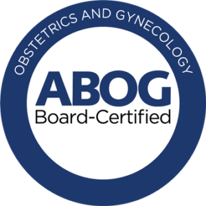 American Board of Obstetrics & Gynecology - Board Certified Logo